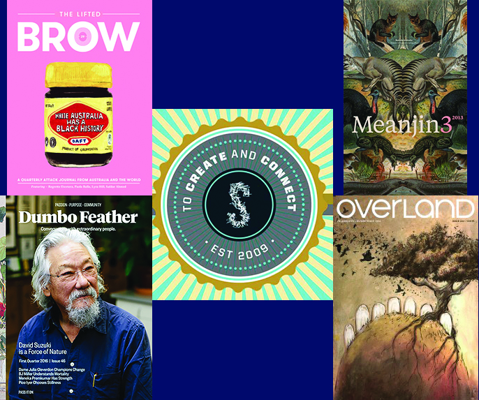 top five literary magazine covers