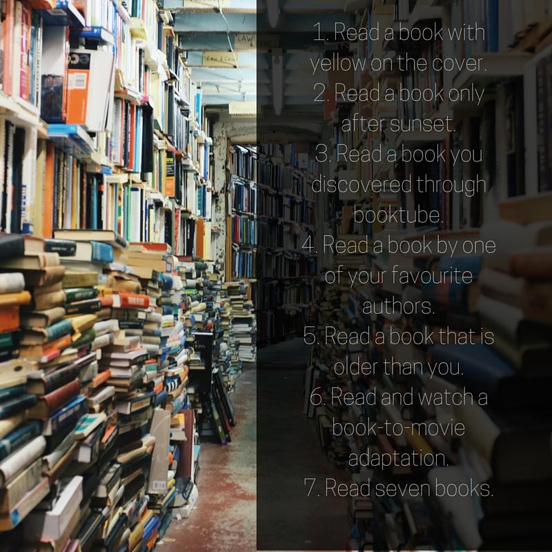 reading challenge list